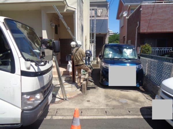 住宅密集地でありがちな塗装工事トラブルを避けるために