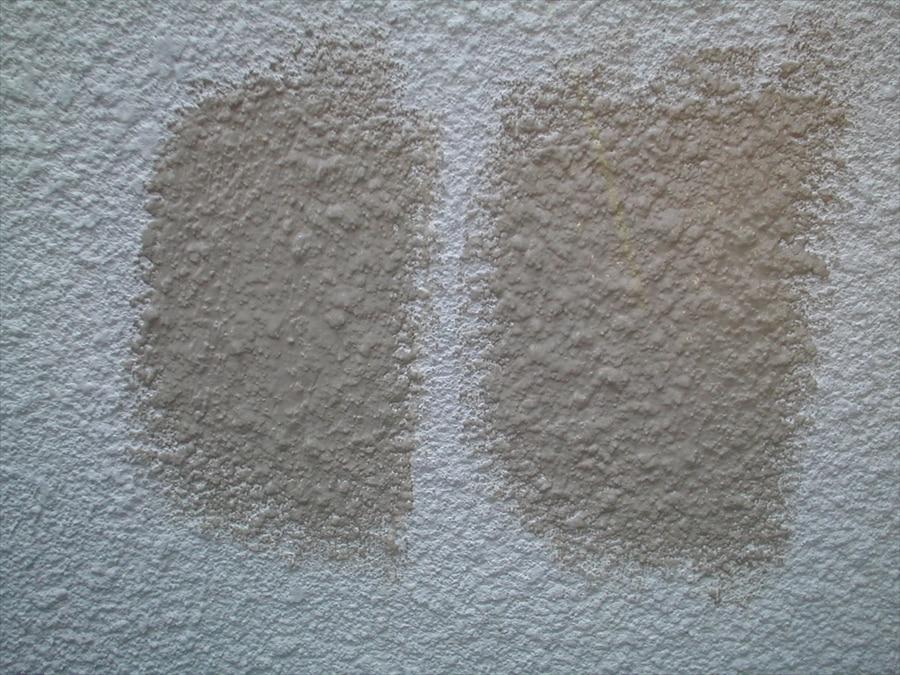塗料の薄めすぎの比較