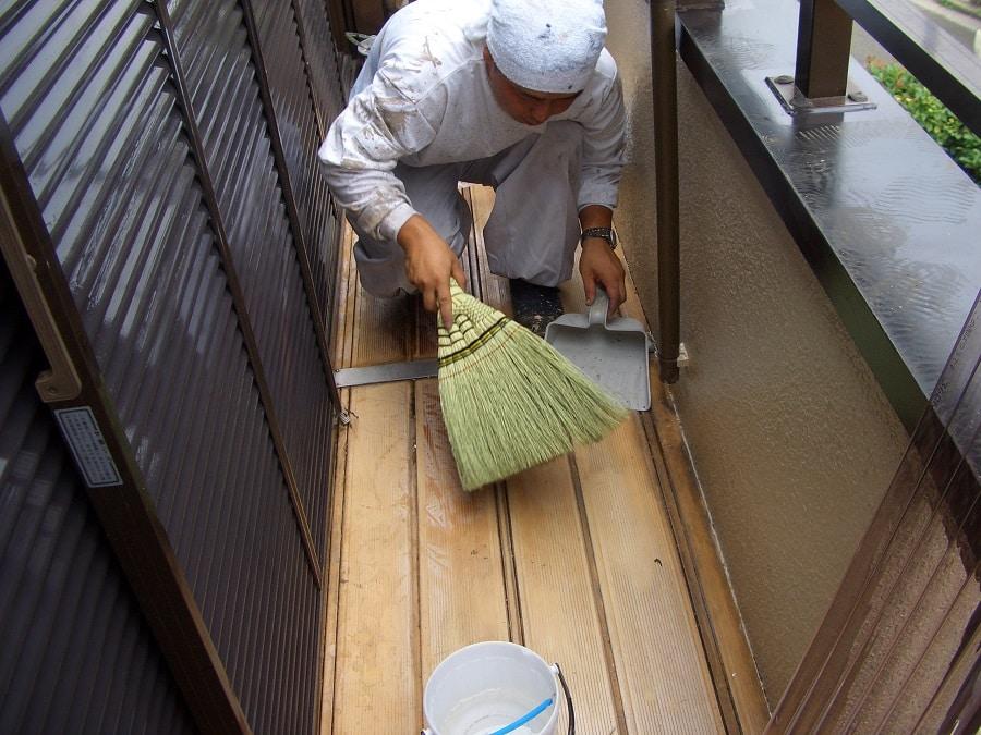 ベンダ内の掃除