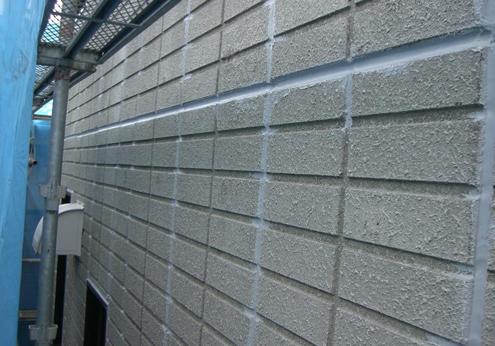 川崎市で塗装施工したへーベルハウスの目地シール