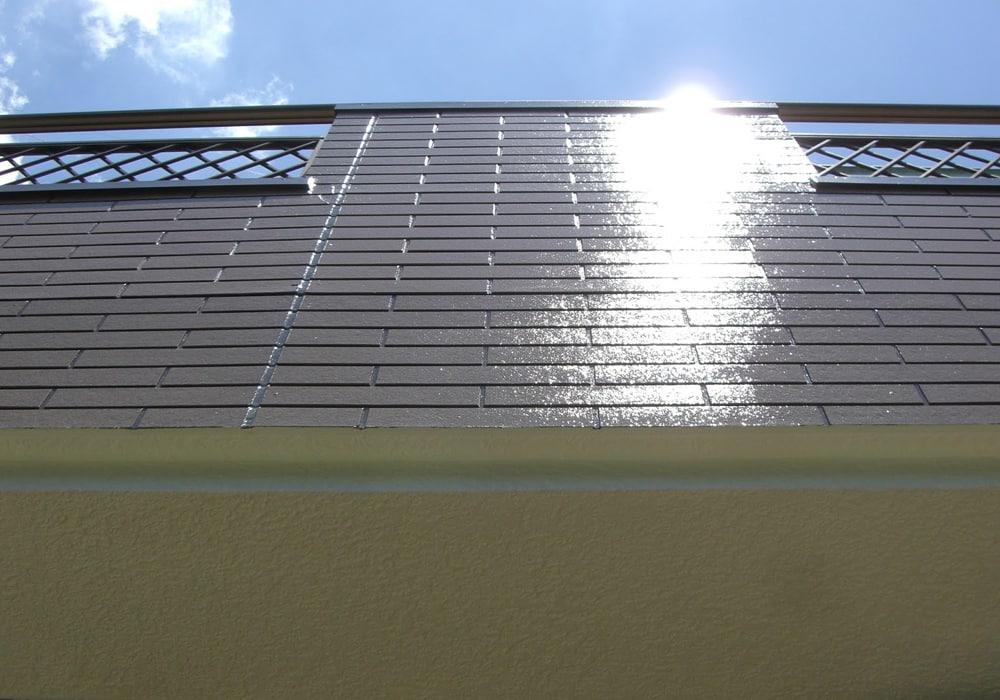 2007年のベランダ側の塗装直後