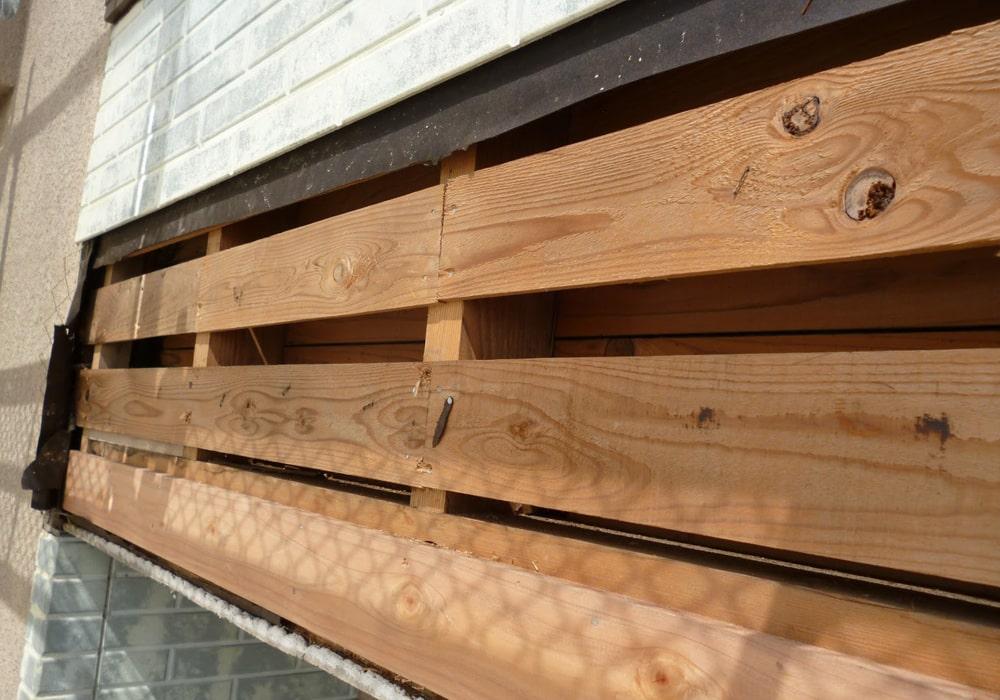 サイディングの下地木材