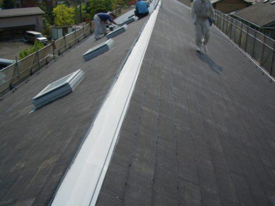 適正な仕事に3日は要する屋根塗装を1日で済ましたとても残念でちょっと悪質な工事