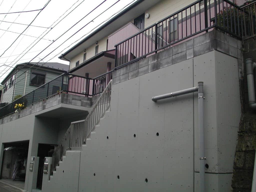 外壁塗装と車庫周りの完成
