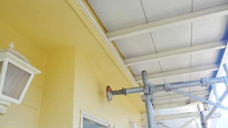 外壁塗装の塗装職人施工事例