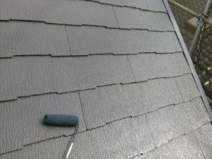 スレート屋根 上塗り