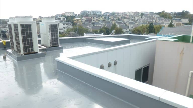 屋上防水の完成