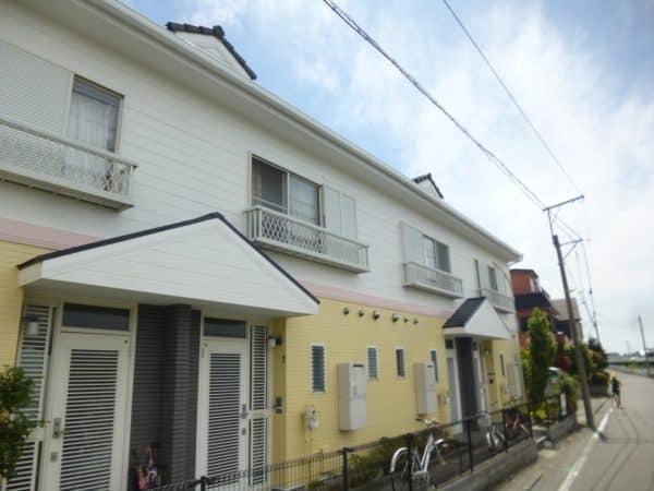 賃貸アパートの塗り替えとサイディングの補修