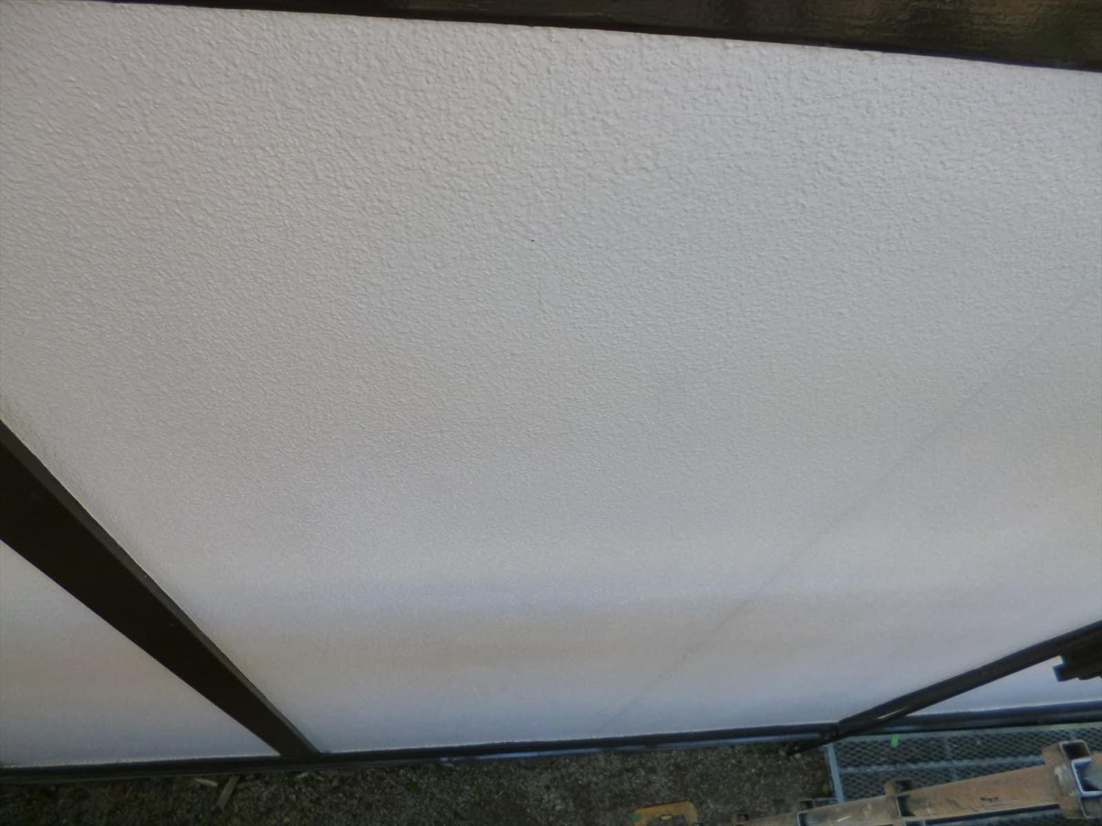 外壁塗装と格子