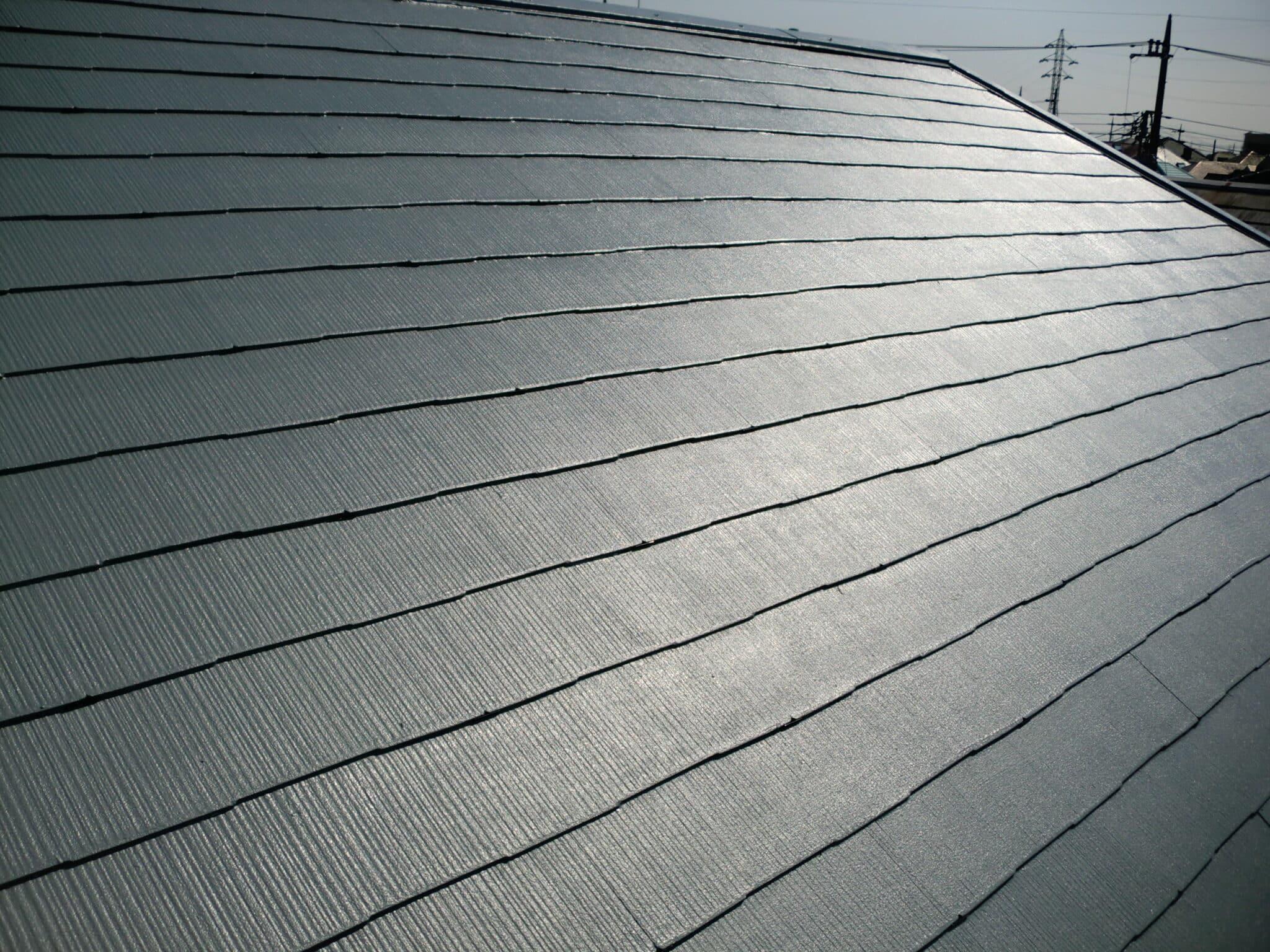 断熱屋根塗装の完成