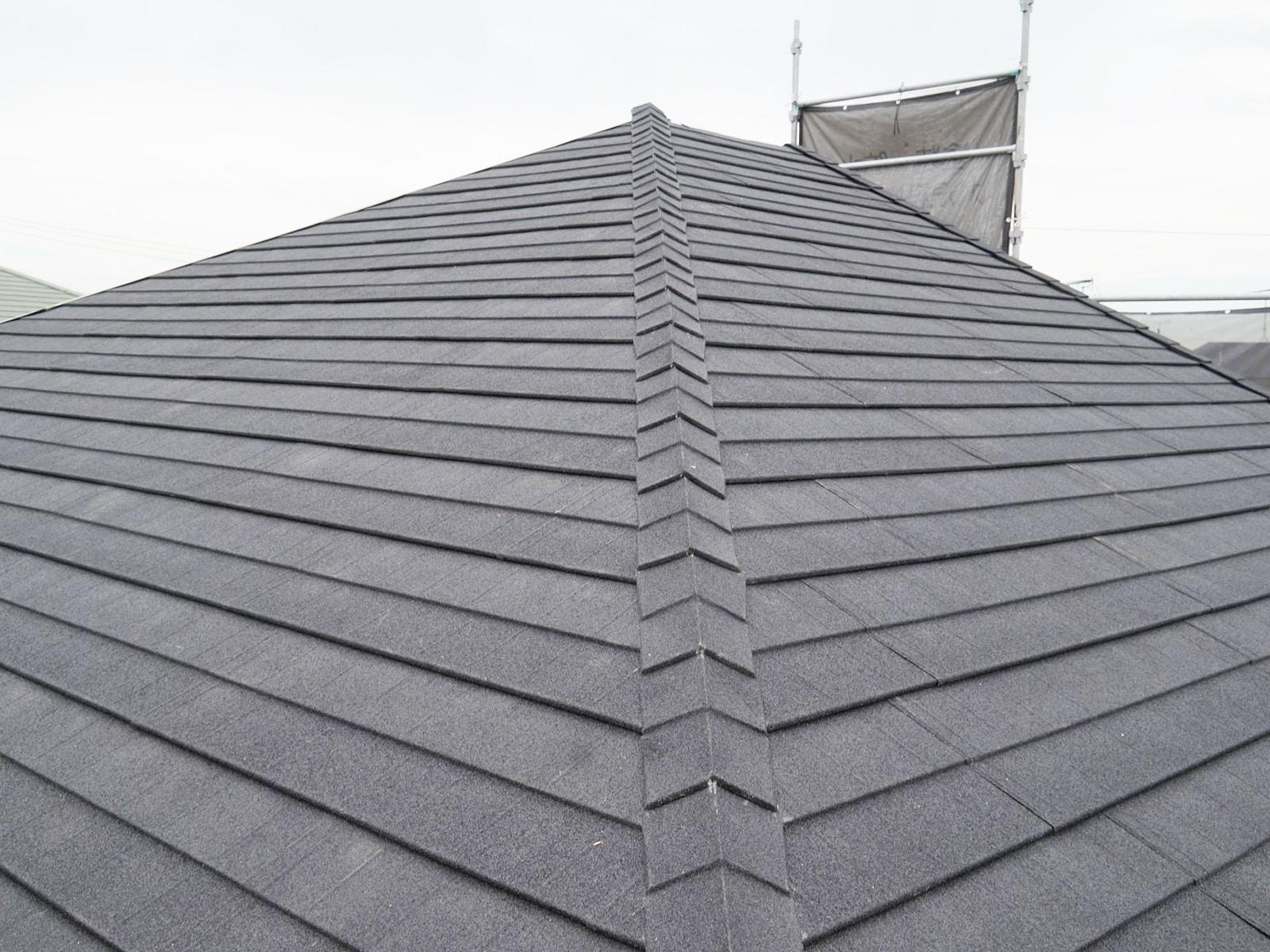 瓦から金属屋根に葺き替え