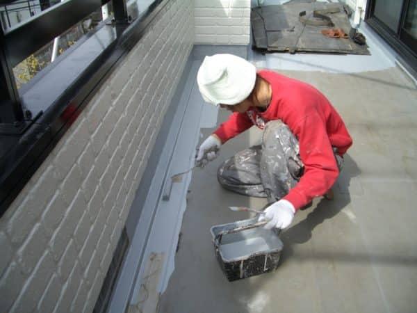 積水ハウスの家の外壁・ウッドテラス塗装