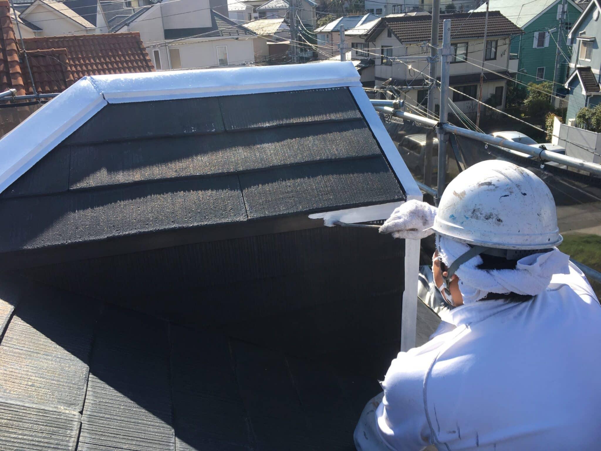 屋根と塗装職人