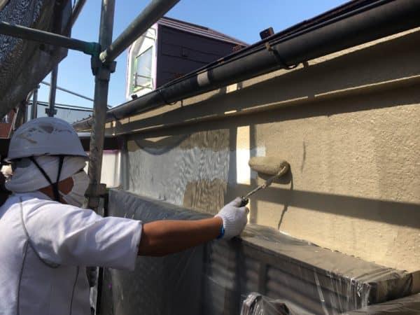 13年ぶり、初回の外壁塗装に続き2回目の再注文塗装です。