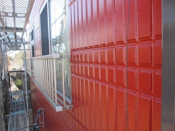 ALCの塗装続き。シールも塗装も一級技能士です。