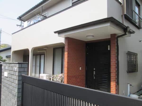 10年ぶりの外壁再塗装 気なるチョーキングと屋根瓦も改修
