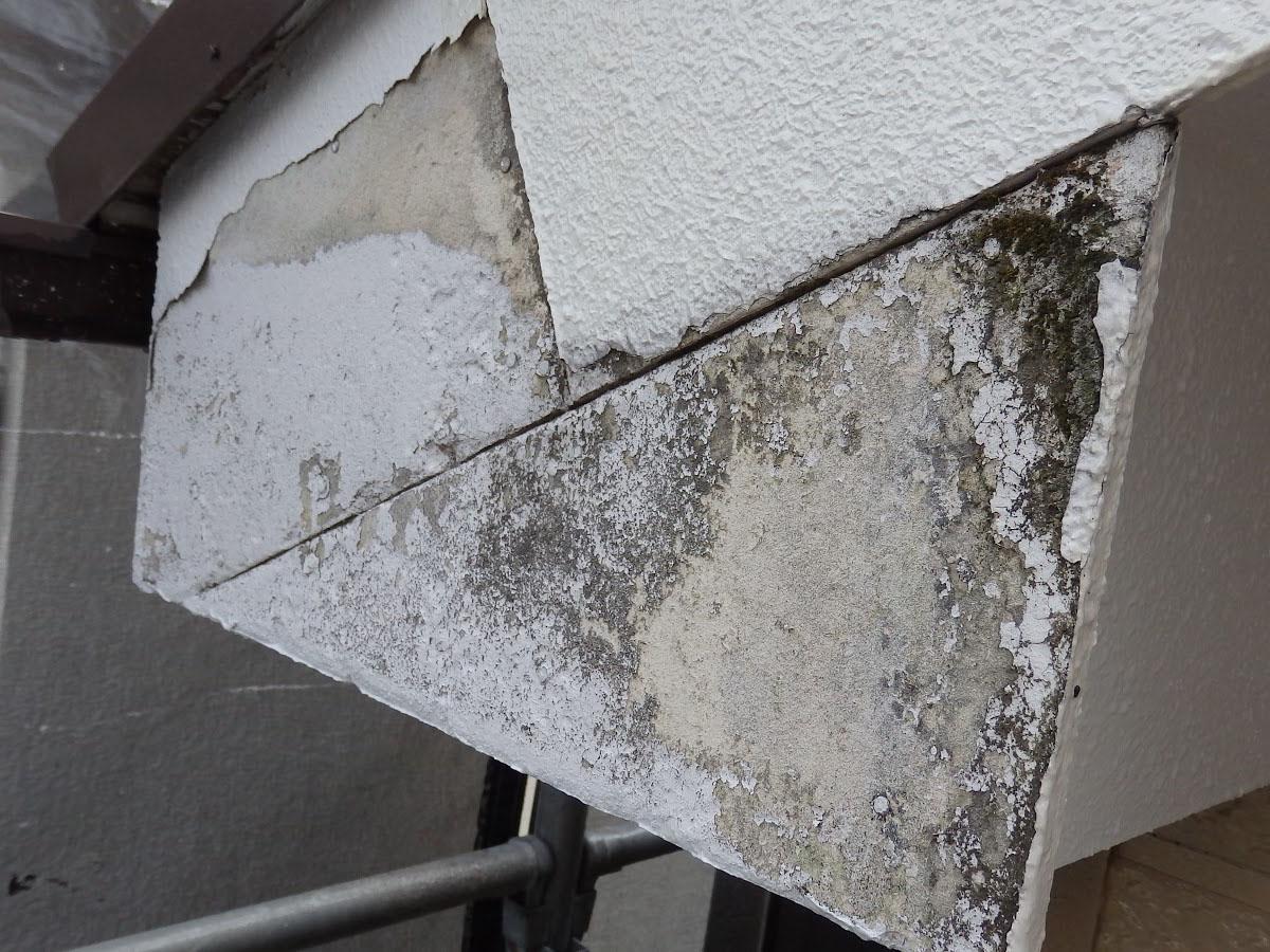 破風ケイカル板の劣化