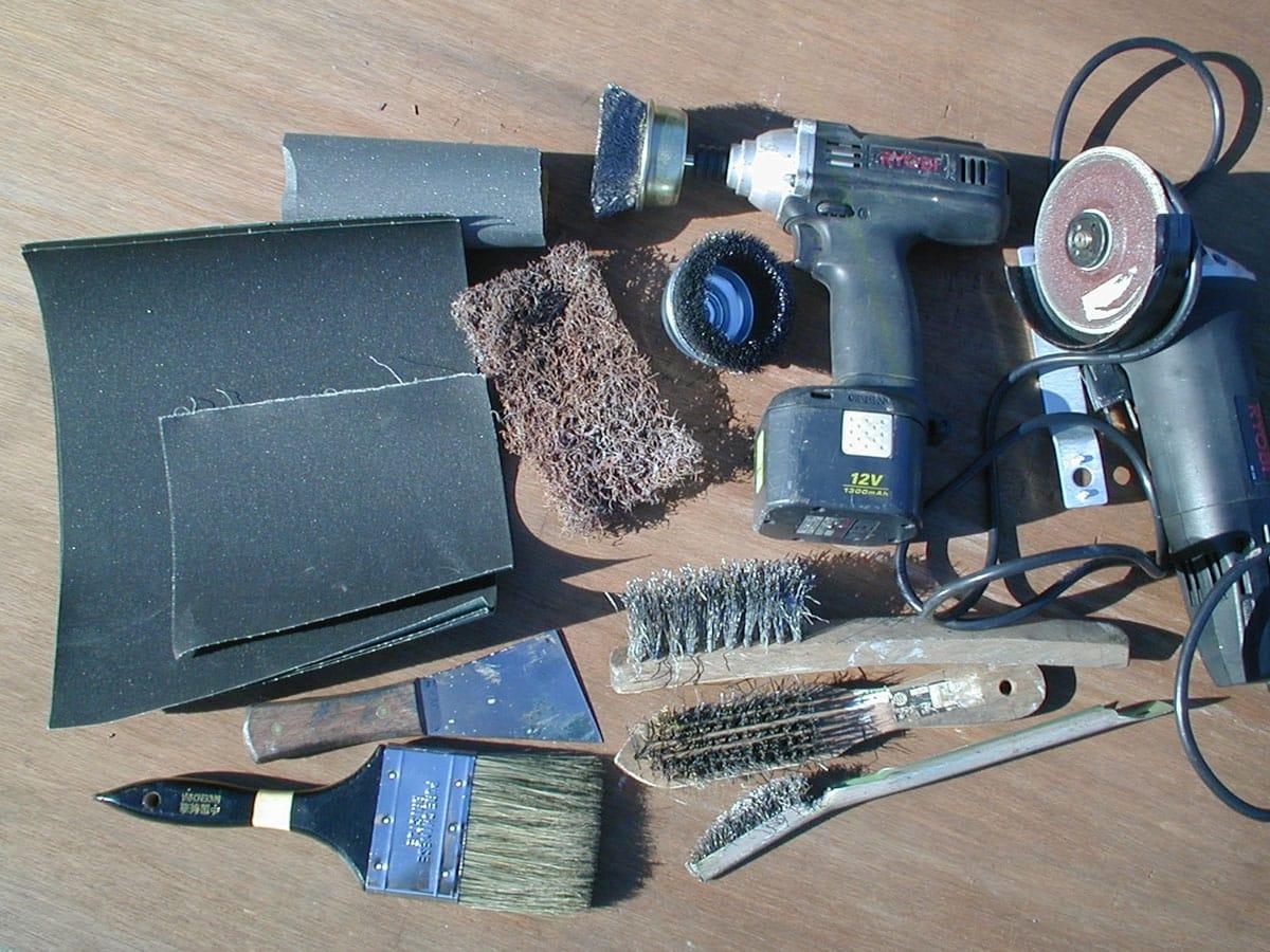 様々なケレン道具