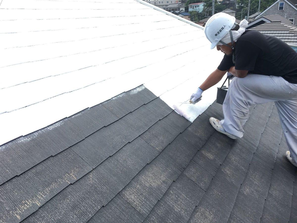 屋根×サフェーサー