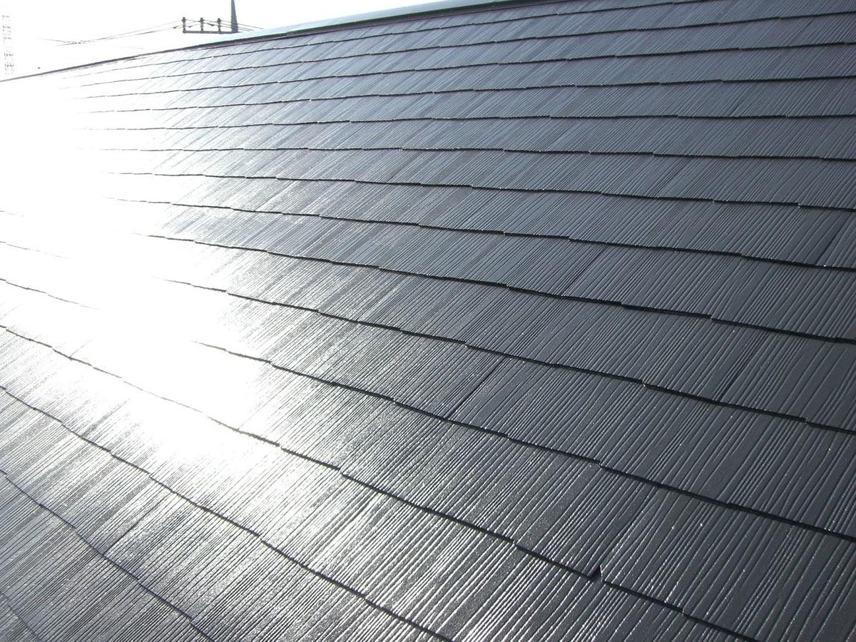 一般的なスレート屋根塗装