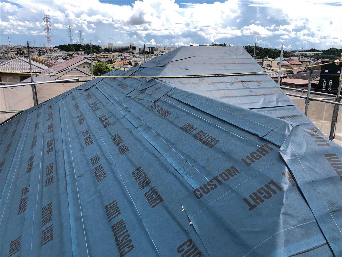 今回の屋根