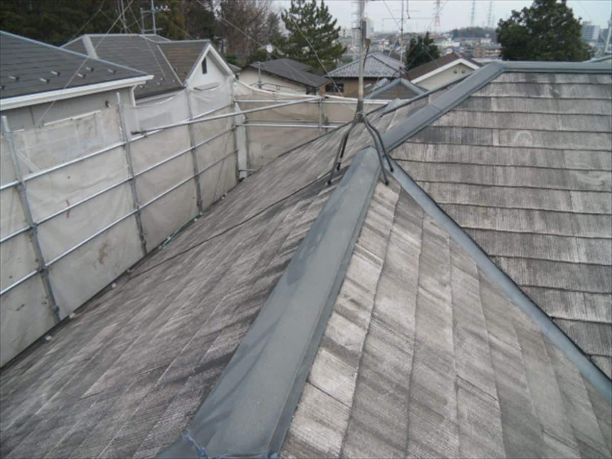 前回の屋根