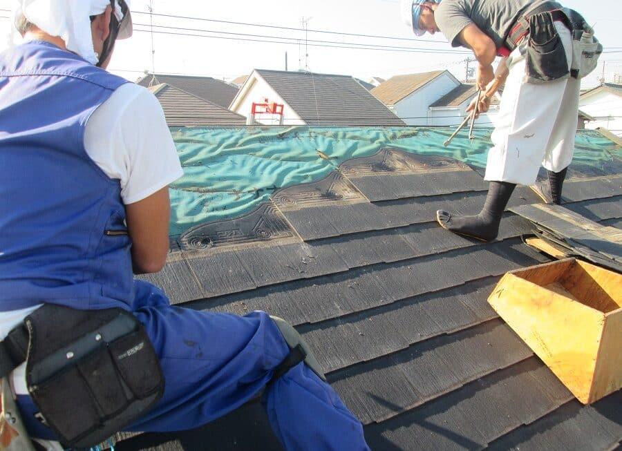 スレート屋根の張り替え