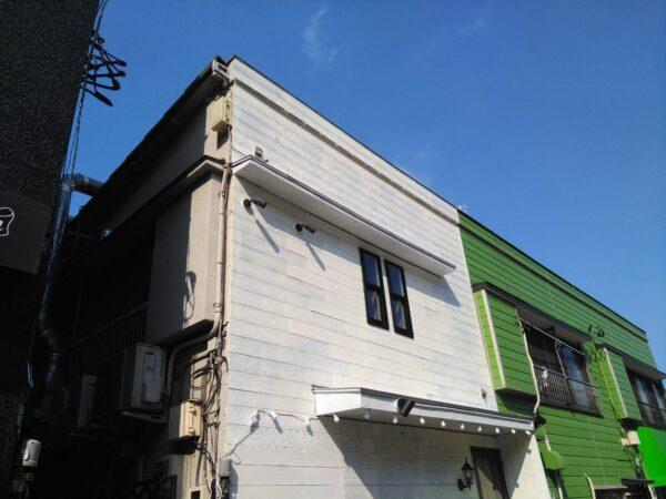 お客様のイメージを具現化した店舗塗装と複合工事